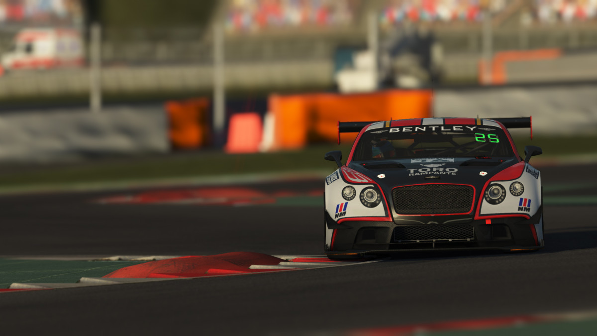 rF2 - GT3 Bentley Continental S397