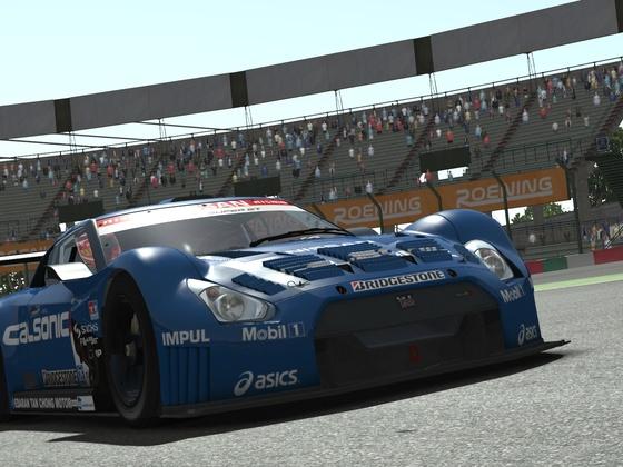 rF2 - Nissan GT500