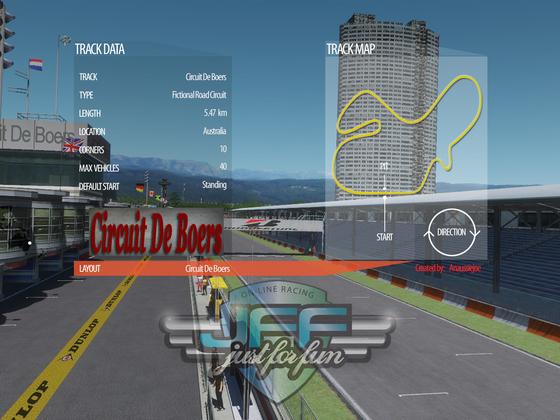 rF2 - Circuit de Boers